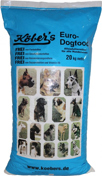 Köbers Eurodogfood 10 kg oder 20 kg