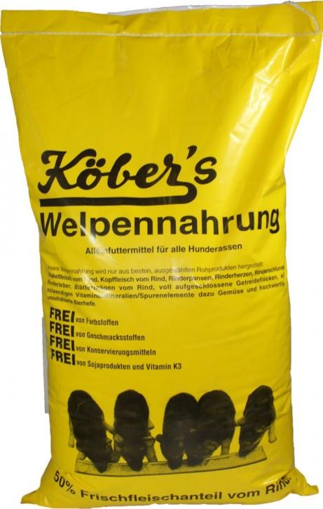 Köbers Welpennahrung 5 kg oder 15 kg (SPARTIPP: unsere Staffelpreise)