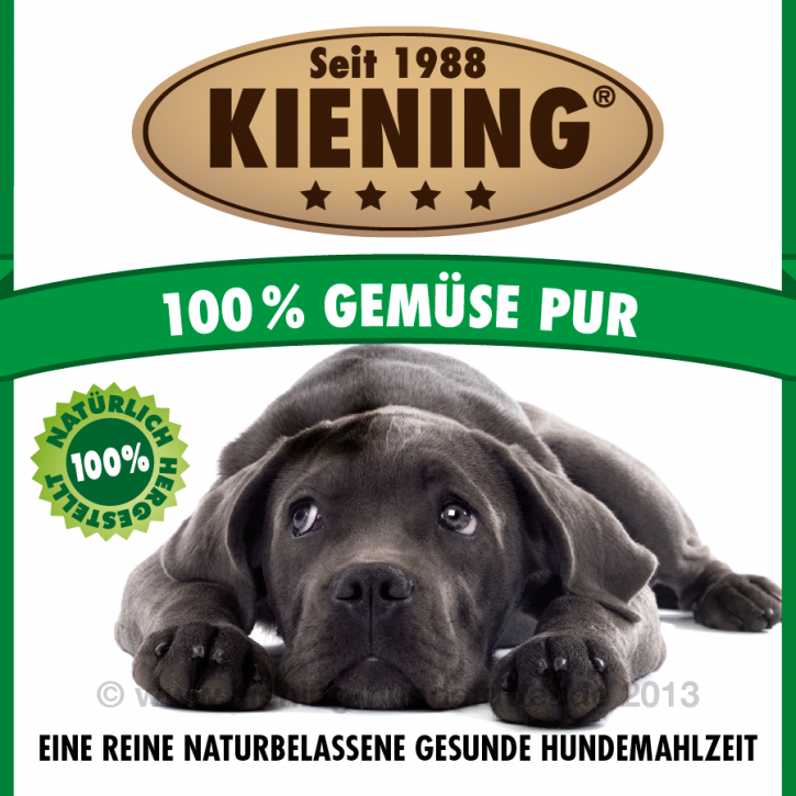 Kiening Dog 100% Gemüse pur 410 g