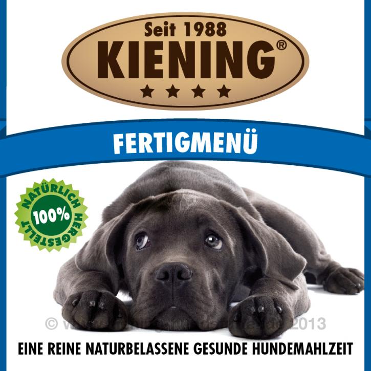 Kiening Dog Fertig Menü 12 x 410 g