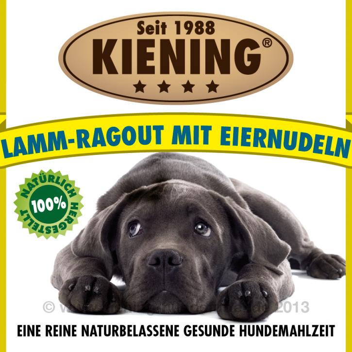Kiening Dog Lamm Ragout mit Eiernudeln 820 g