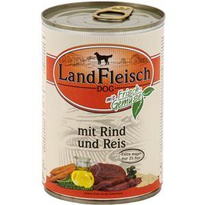 LandFleisch Pur mit Rind und Reis 400 g