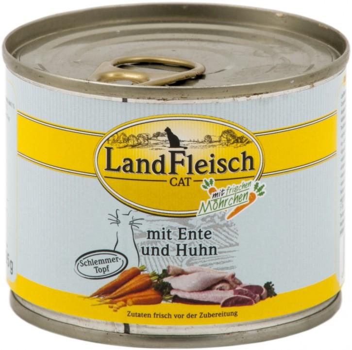 LandFleisch Schlemmertopf mit Ente und Huhn 400 g