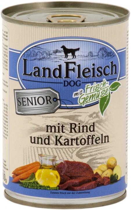 LandFleisch Senior mit Rind und Kartoffeln 400 g