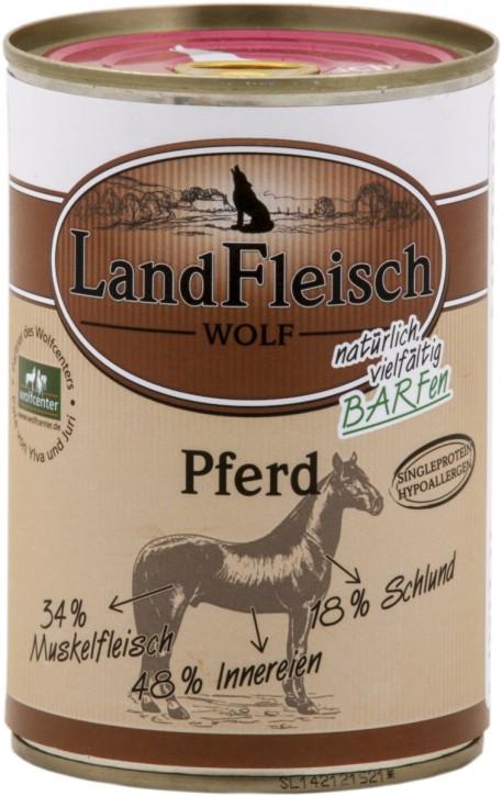 LandFleisch Wolf Sensibel mit Pferd 400 g