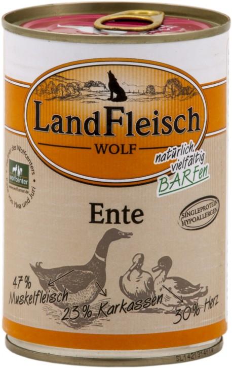 LandFleisch Wolf mit Ente 400 g