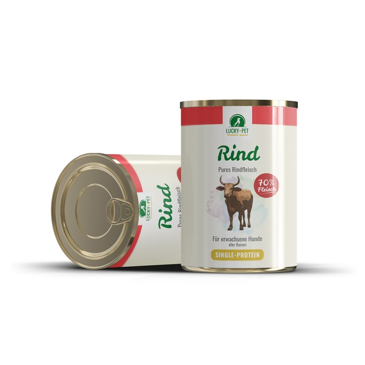 Luckys Pures Rind 800 g