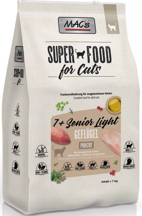 MACs Cat 7+ Senior & Light 1,5 kg oder 7 kg (SPARTIPP: unsere Staffelpreise)