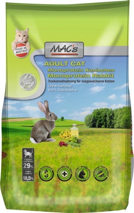 MACs Cat Adult Monoprotein Kaninchen 1,5 kg oder 7 kg (SPARTIPP: unsere Staffelpreise)