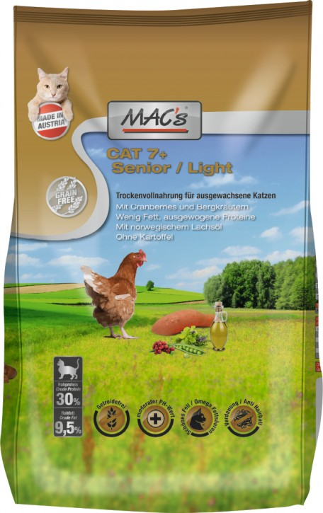 MACs Cat Senior & Light 1,5 kg oder 7 kg (SPARTIPP: unsere Staffelpreise)