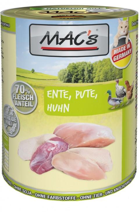 Macs Cat Ente, Pute & Huhn 400 g