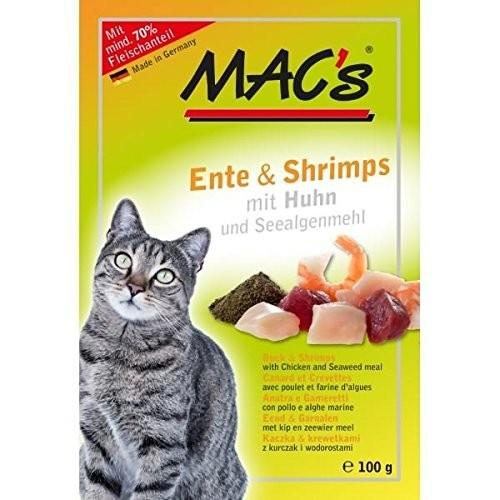 Macs Cat Ente & Shrimps 12 x 100 g