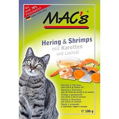 Macs Cat Hering & Shrimps 12 x 100 g
