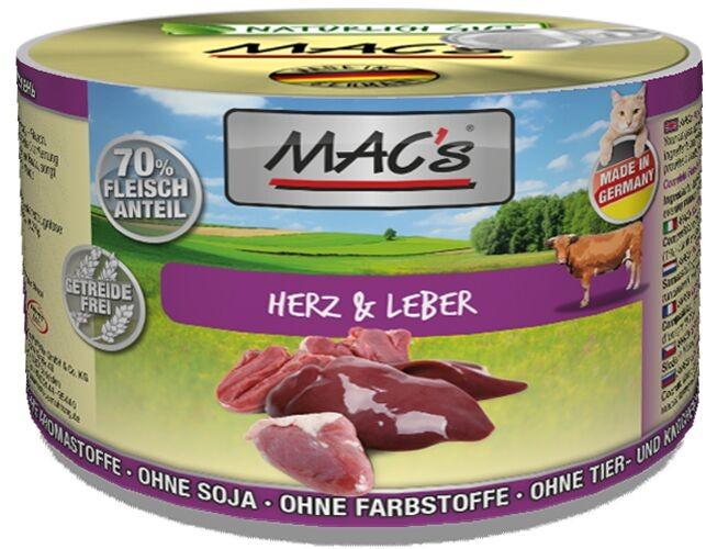 Macs Cat Herz & Leber 200 g