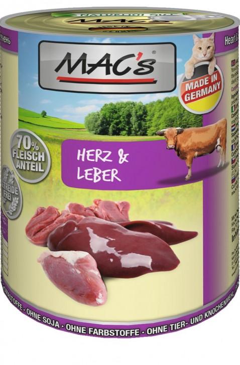 Macs Cat Herz & Leber 400 g