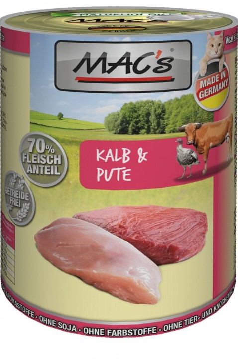 Macs Cat Kalb & Pute 400 g