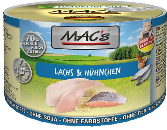 Macs Cat Lachs & Hühnchen 200 g