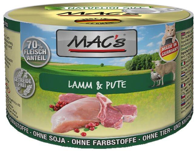 Macs Cat Lamm & Pute 200 g oder 12 x 200 g