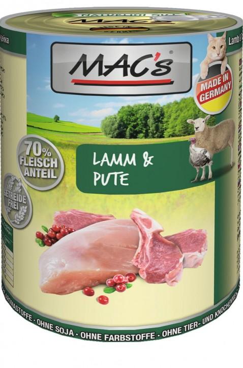 Macs Cat Lamm & Pute 400 g
