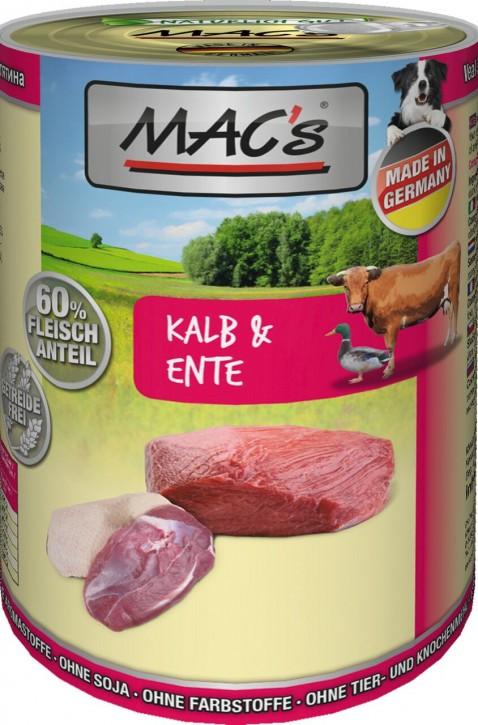 Macs Dog Kalb & Ente 400 g