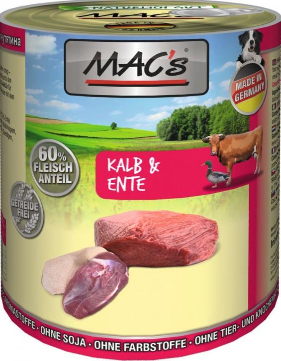 Macs Dog Kalb & Ente 800 g