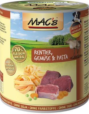 Macs Dog Rentier, Gemüse & Pasta 400 g