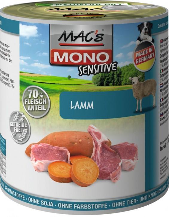 Macs Dog Sensitive Lamm & Hirse 6 x 800 g