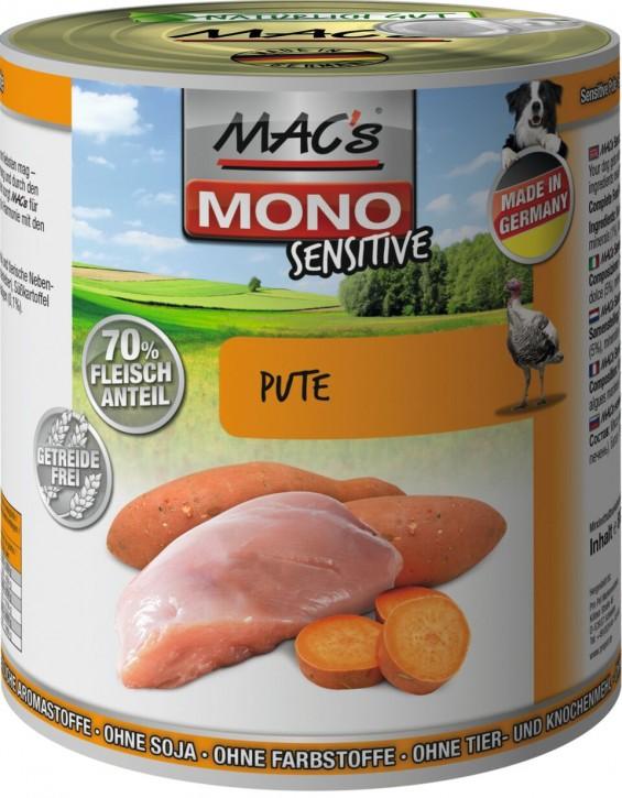 Macs Dog Sensitive Pute & Hirse 800 g