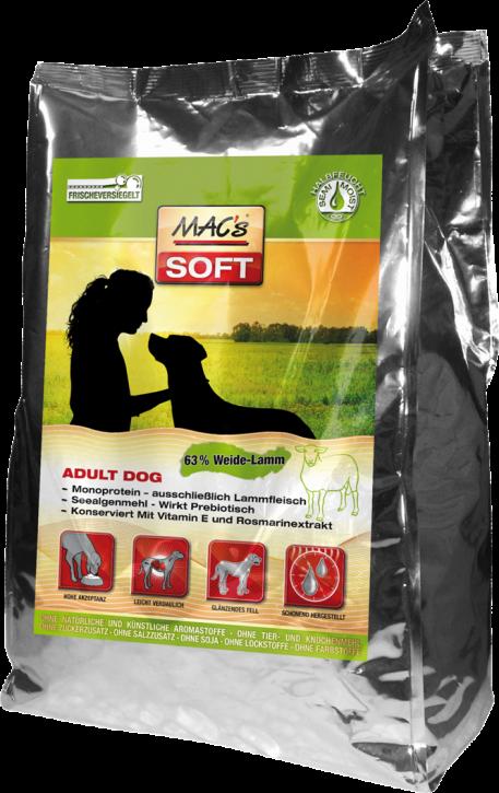 Macs Soft Adult Lamm 1,5 kg, 5 kg oder 15 kg (SPARTIPP: unsere Staffelpreise)
