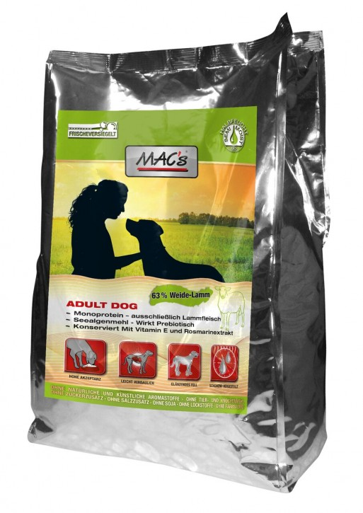 Macs Soft Adult Lamm 5 kg oder 15 kg (SPARTIPP: unsere Staffelpreise)