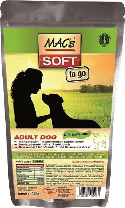 Macs Soft to go mit Lamm 6 x 230 g