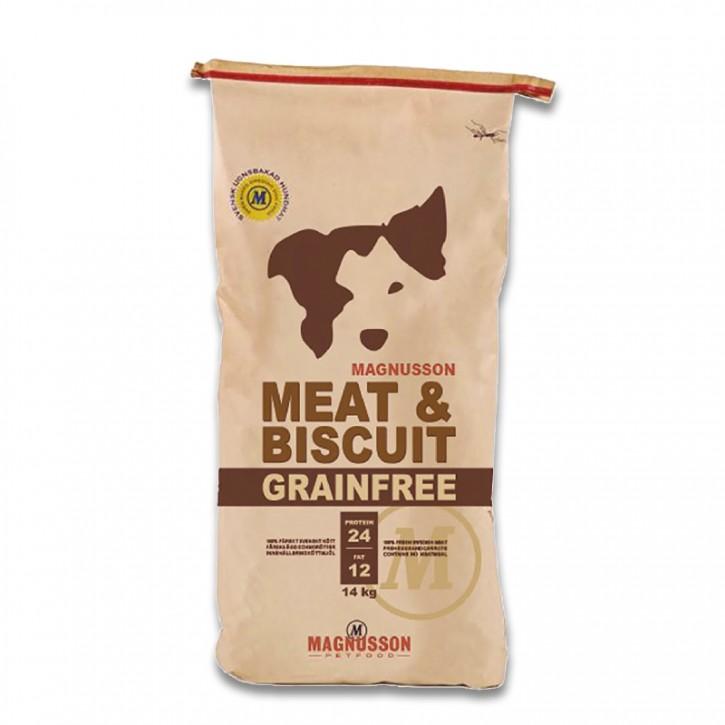Magnusson Petfood Meat & Biscuit Grain Free Adult 4,5 kg oder 14 kg (SPARTIPP: unsere Staffelpreise)
