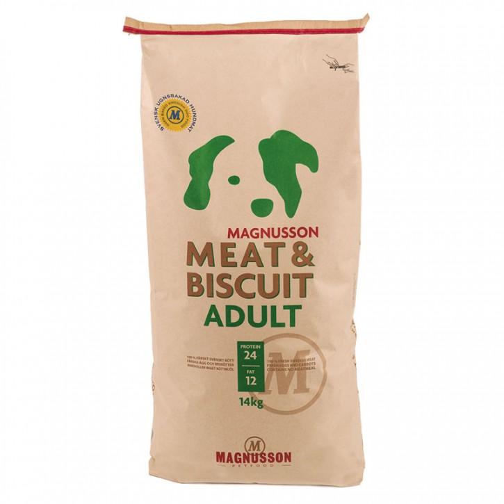 Magnusson Petfood Meat und Biscuit Adult 4,5 kg oder 14 kg (SPARTIPP: unsere Staffelpreise)