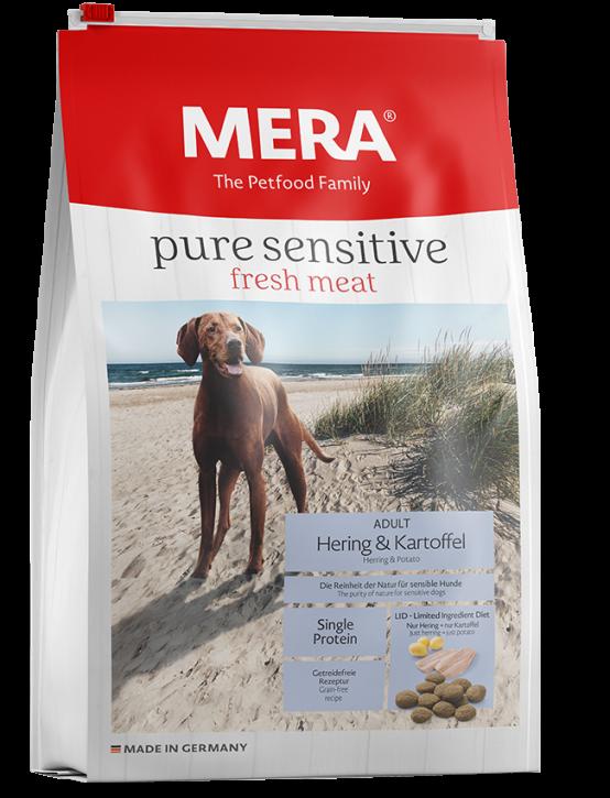 Mera pure sensitive Fresh Meat Hering und Kartoffel 4 kg oder 12,5 kg (SPARTIPP: unsere Staffelpreise)