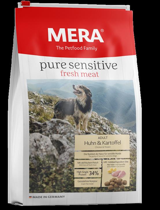 Mera pure sensitive Fresh Meat Huhn und Kartoffel 4 kg oder 12,5 kg (SPARTIPP: unsere Staffelpreise)