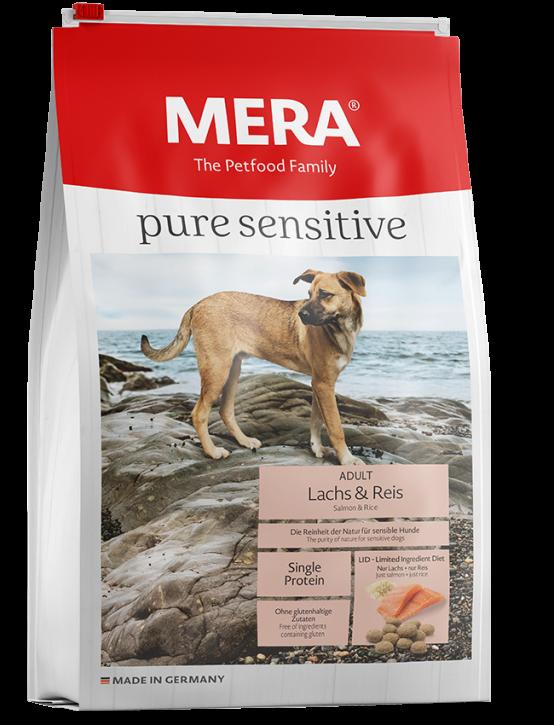 Mera pure sensitive Lachs und Reis 4 kg oder 12,5 kg (SPARTIPP: unsere Staffelpreise)