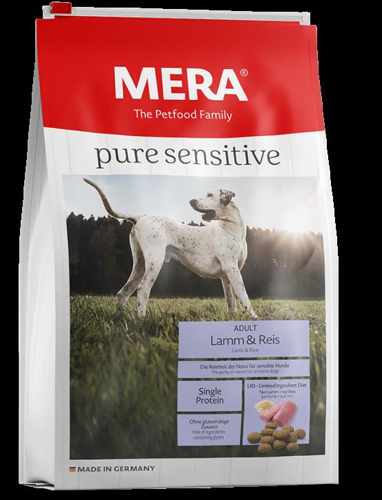 Mera pure sensitive Lamm und Reis 4 kg oder 12,5 kg (SPARTIPP: unsere Staffelpreise)