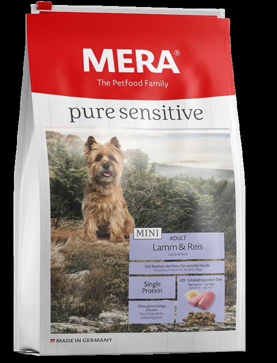 Mera pure sensitive Mini Lamm und Reis 1 kg oder 4 kg (SPARTIPP: unsere Staffelpreise)