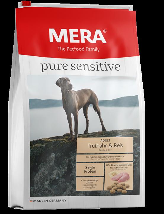 Mera pure sensitive Truthahn und Reis 4 kg oder 12,5 kg (SPARTIPP: unsere Staffelpreise)