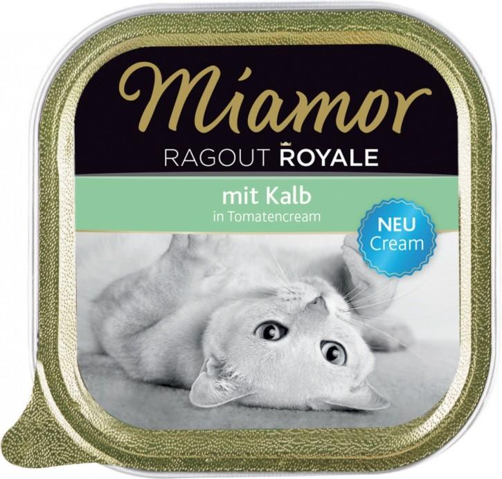 Miamor Cat Ragout Royal in Cream mit Kalb 16 x 100 g