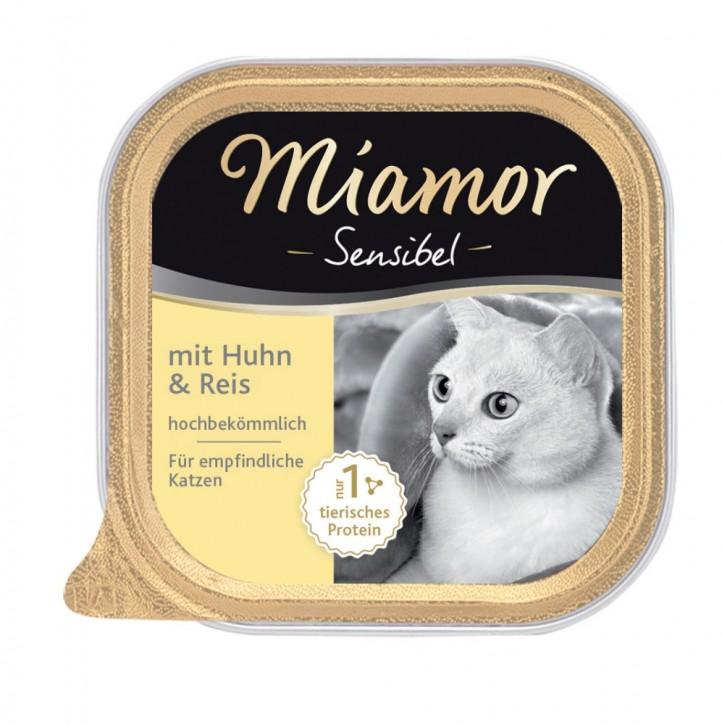 Miamor Cat Sensible mit Huhn und Reis 16 x 100 g