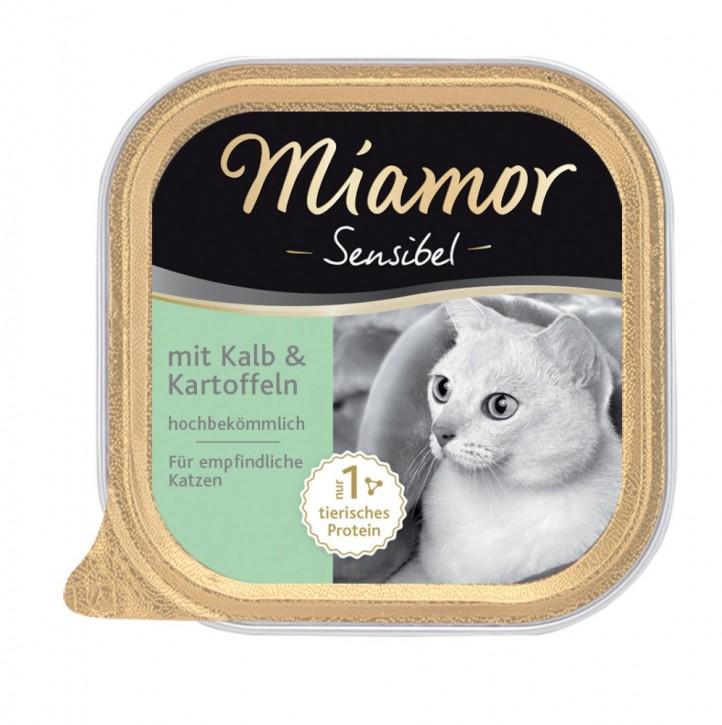 Miamor Cat Sensible mit Kalb und Kartoffeln 16 x 100 g
