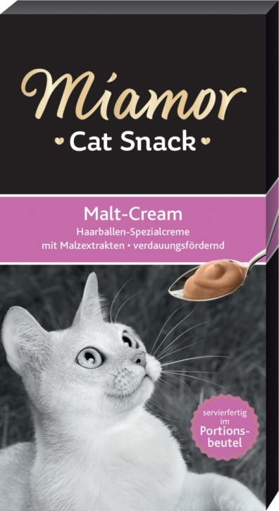 Miamor Cat Snack Malt Cream 66 x 15 g