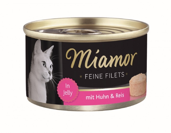 Miamor Feine Filets mit Huhn und Reis in Jelly 100 g