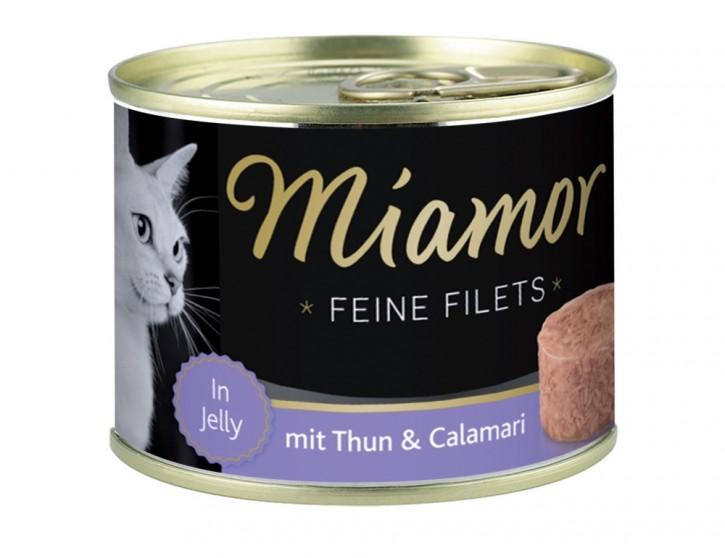 Miamor Feine Filets mit Thunfisch und Calamari in Jelly 12 x 185 g