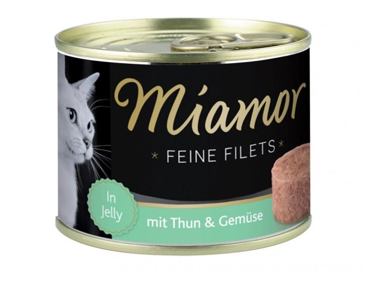 Miamor Feine Filets mit Thunfisch und Gemüse in Jelly 185 g