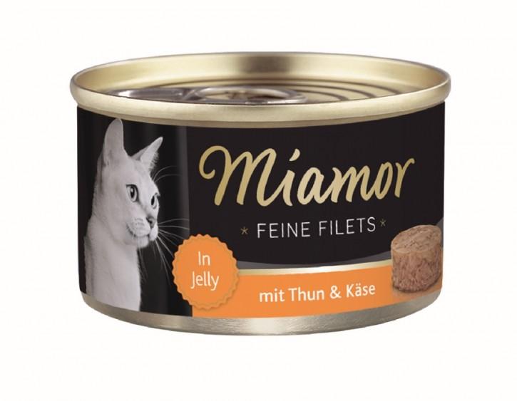Miamor Feine Filets mit Thunfisch und Käse in Jelly 100 g