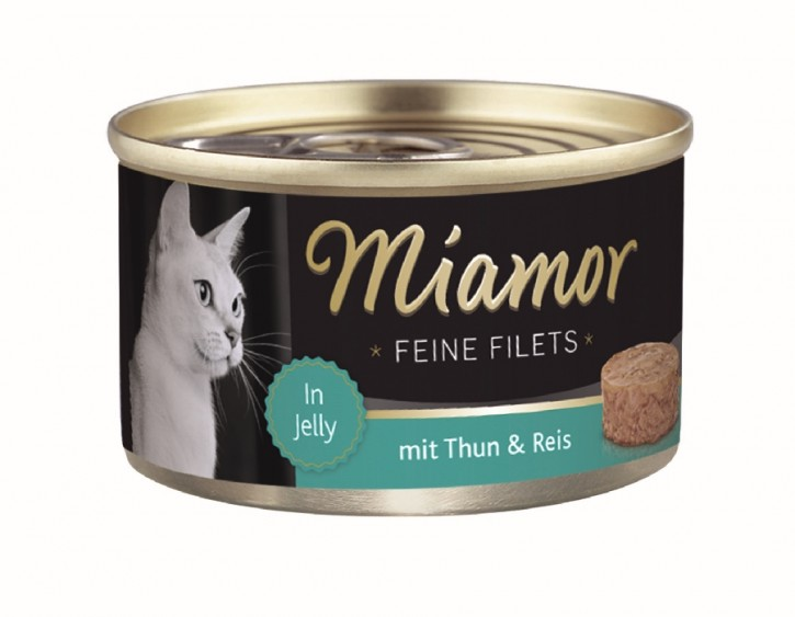 Miamor Feine Filets mit Thunfisch und Reis in Jelly 100 g