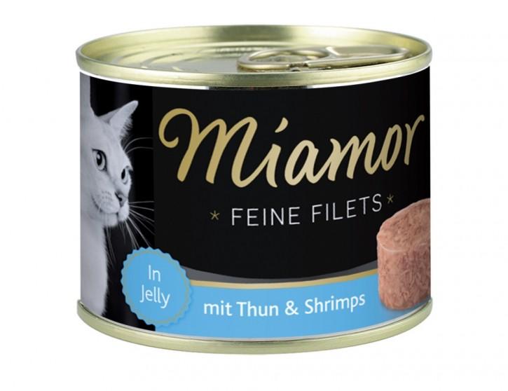Miamor Feine Filets mit Thunfisch und Shrimps in Jelly 185 g