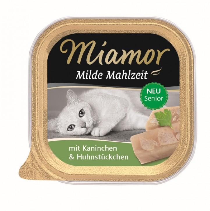 Miamor Milde Mahlzeit Senior mit Kaninchen 16 x 100 g